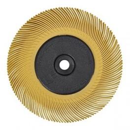 Schuurschijf bristle brush 3M geel