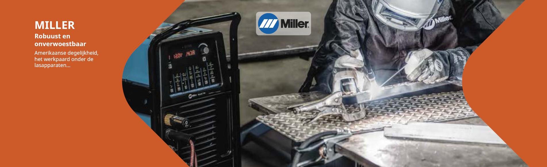 Miller lasapparatuur